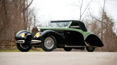 1938 Bugatti Type 57C Aravis Cabriolet by Gangloff