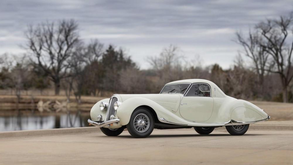 1938 Delahaye 135 MS Coupe by Figoni et Falaschi