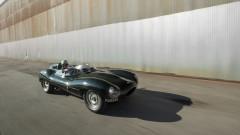 1955 Jaguar D-Type with Driver