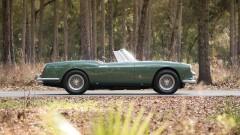 1960 Ferrari 400 Superamerica SWB Cabriolet (Side Profile)