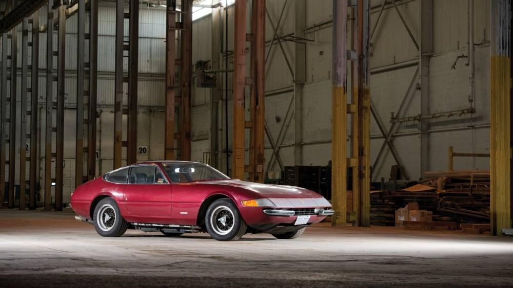 "1971 Ferrari 365 GTB/4 ""Condo Find"" Daytona red"