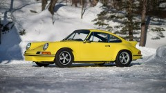 Yellow 1973 Porsche 911 Carrera 2.7 RS Lightweight