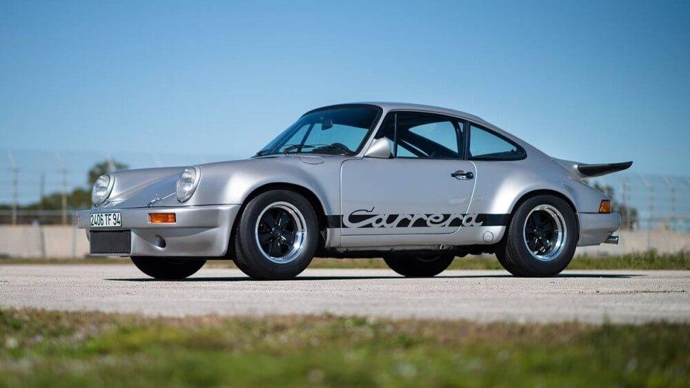 Silver 1975 Porsche 911 Carrera 3.0 RS