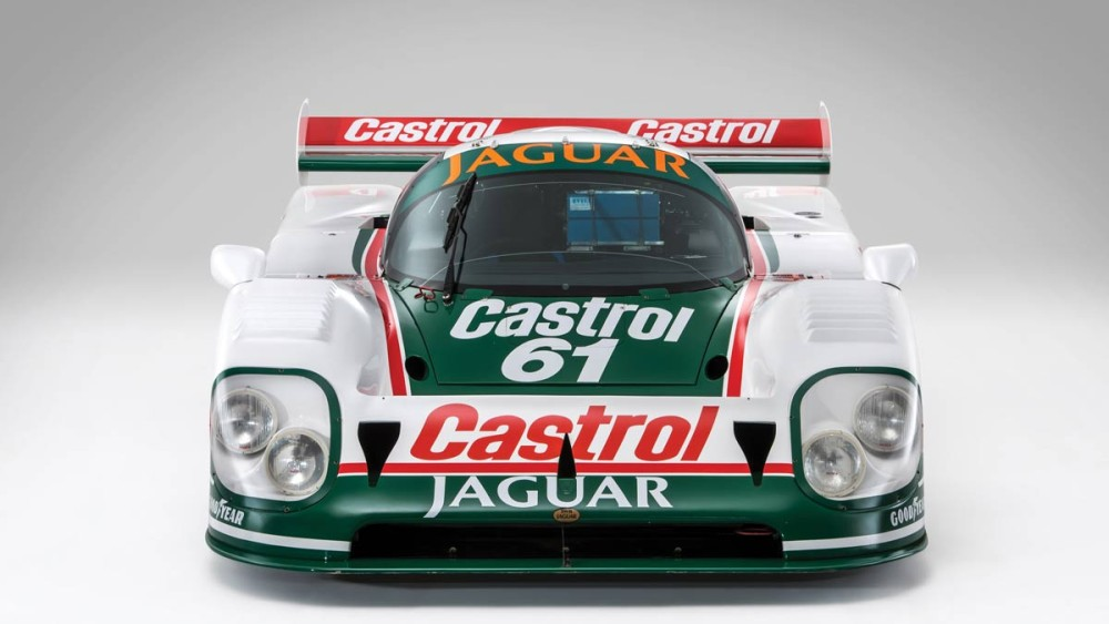 1988 Works Jaguar XJR-9 (Front)