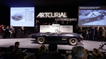 2015: Ten Most Expensive Cars Sold at Public Auction (Jan to October)