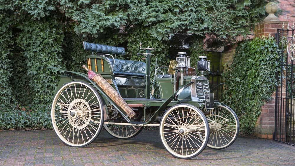 1900 Benz Ideal 41/2 HP Single Cylinder Vis-à-Vis