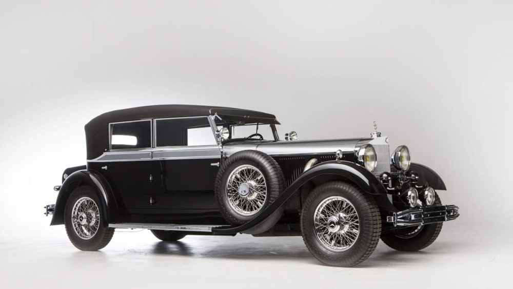 1931 Mercedes-Benz 770 K Typ W 07 Cabriolet D Bonhams