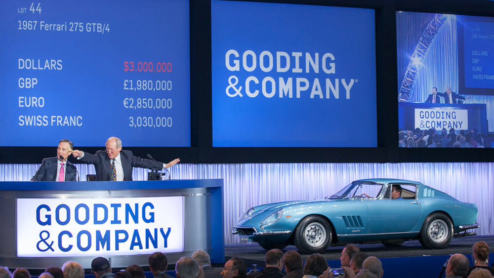 1967 Ferrari 275 GTB/4 at Gooding Auction