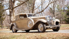1930 Minerva AL Cabriolet by Van den Plas