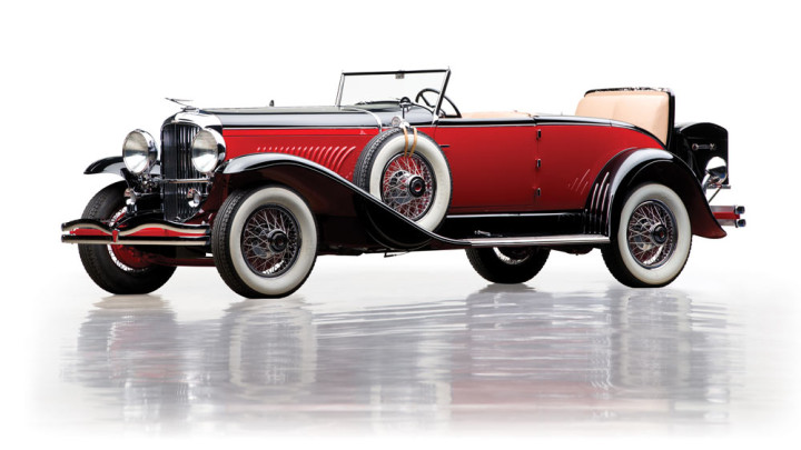 The 1931 Duesenberg Model J 'Disappearing Top' Convertible Coupe by Murphy