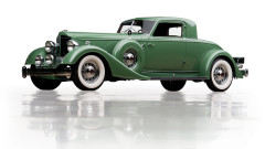 1934 Packard Twelve Individual Custom Stationary Coupe by Dietrich