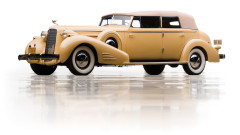 1935 Cadillac V-16 Imperial Convertible Sedan by Fleetwood