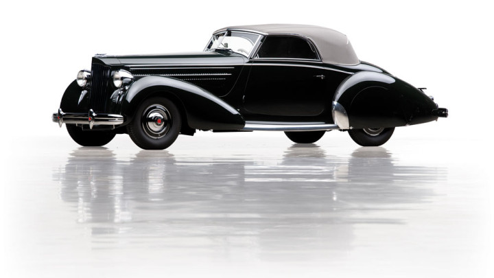 1938 Packard Eight Cabriolet by Graber