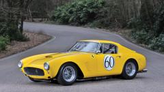 Yellow 1960 Ferrari 250 GT SWB Berlinetta Competizione