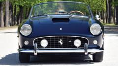 Blue 1961 Ferrari 250 GT SWB California Spider by Scaglietti