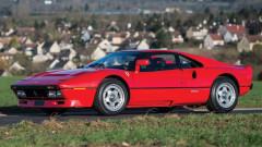 Red 1985 Ferrari 288 GTO