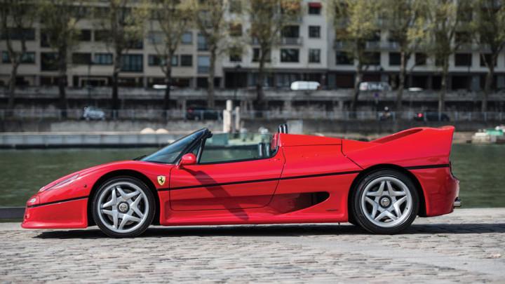 Red 1996 Ferrari F50