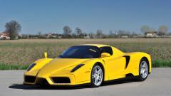 Yellow 2002 Ferrari Enzo