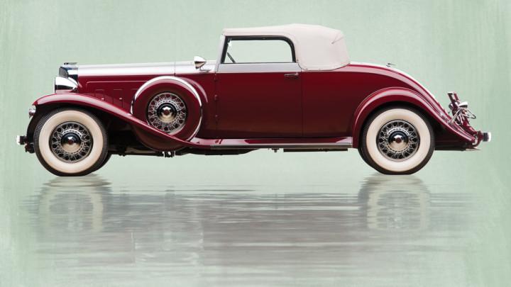 1931 Marmon Sixteen Convertible Coupe