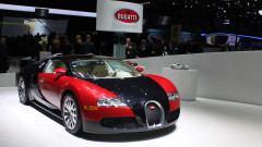 2006 Bugatti Veyron at Geneva Auto Salon 2015