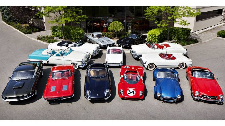 Cars from the Peter Klutt Collection