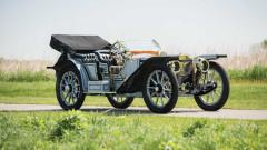 1910 American Underslung Traveler Toy Tonneau