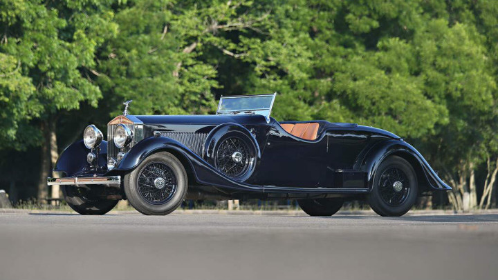 1934 Rolls Royce Phantom II Continental Two-Seat Drophead Coupe