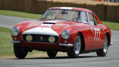 Red 1959 Ferrari 250 GT Competizione Alloy Berlinetta