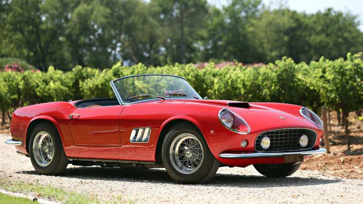 1961 Ferrari 250 GT SWB California Spider with coachwork by Scaglietti