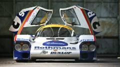 1982 Porsche 956 with doors open