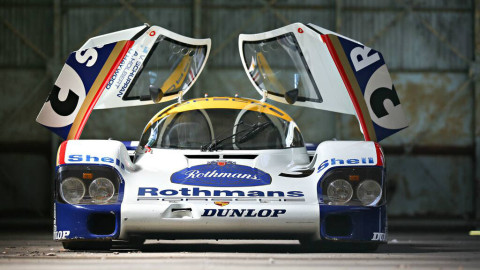 1982 Porsche 956 with doors open