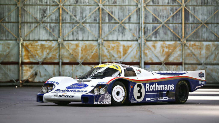 The 1982 Porsche 956 - 24 Hours of Le Mans Winner in 1983
