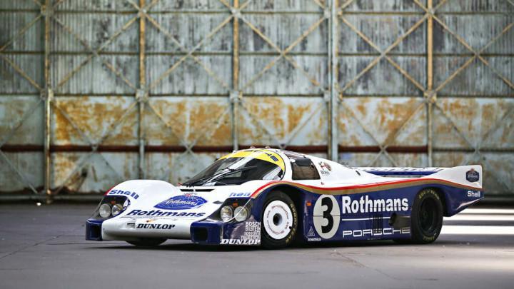 The 1982 Porsche 956 - 24 Hours of Le Mans Winner in 1983