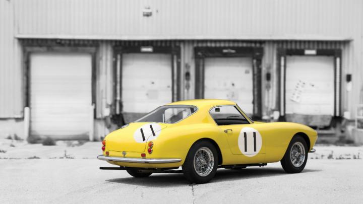 1960 Ferrari 250 GT SWB Berlinetta Competizione Rear Three Quarters