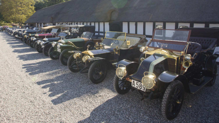 Cars in the Frederiksen Collection