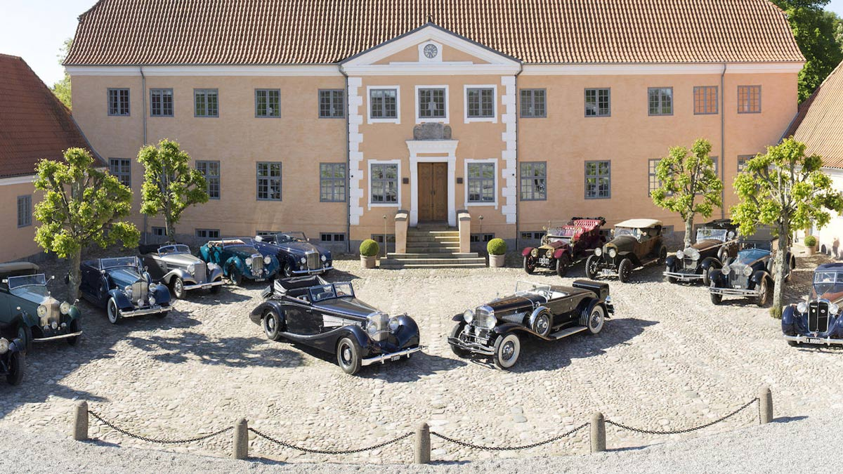 Cars from the Frederiksen Collection