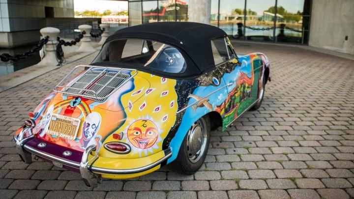 Janis Joplin's 1964 Porsche 356C Cabriolet