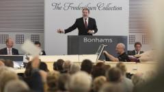 Malcolm Barber at the Bonhams Frederiksen Collection Sale