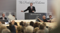 Malcolm Barber at the Bonhams Frederiksen Collection Sale