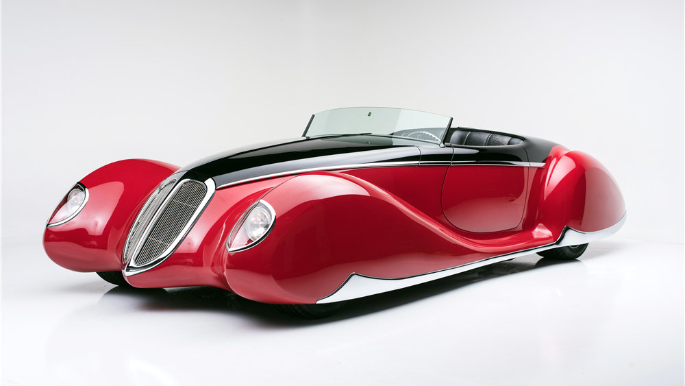 "1938 Lincoln Coddington V12 HEMI, ""The French Connection"""