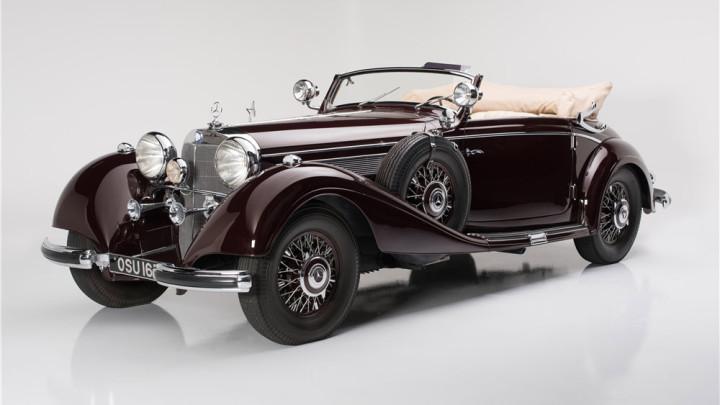 1939 Mercedes-Benz 540K Cabriolet A