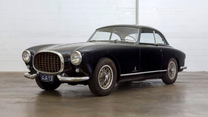 1953 Ferrari 212 Inter Pinin Farina Coupe black