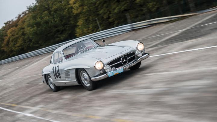 1955 Mercedes Benz 300 SL Sportabteilung Gullwing