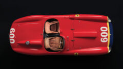 1956 Ferrari 290 MM by Scaglietti from Above