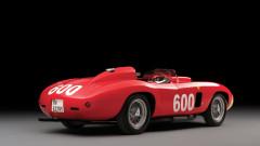 1956 Ferrari 290 MM by Scaglietti rear quarter