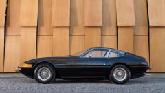 Black 1973 Ferrari 365 GTB/4 Daytona Berlinetta