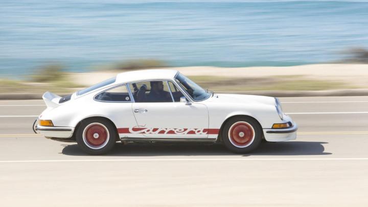 White 1973 Porsche 911 Carrera 2.7 RS