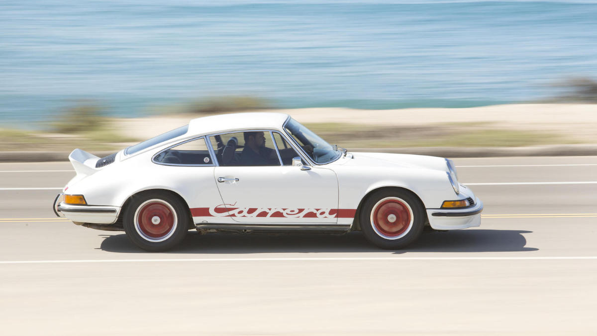 White 1973 Porsche 911 Carrera 2.7 RS