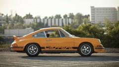 Yellow 1973 Porsche 911 Carrera RS 2.7 Touring