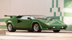 Green 1981 Lamborghini Countach LP400 S Series III by Bertone